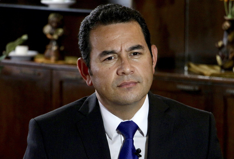 Jimmy Morales, favorito para ganar la presidencia de Guatemala.