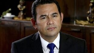 El presidente guatemalteco Jimmy Morales.