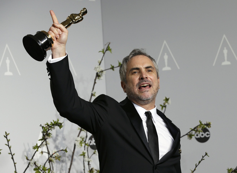 Alfonso Cuarón es el primer latinoamericano en ganar el Oscar como Mejor Director.