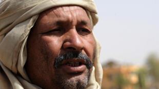 Le général malien El Hadj Ag Gamou à Gao, au Mali, le 2 février 2013.