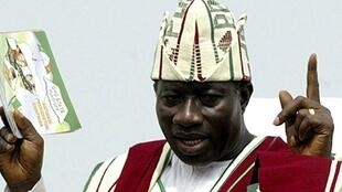 Shugaban Nigeria, Goodluck Jonathan