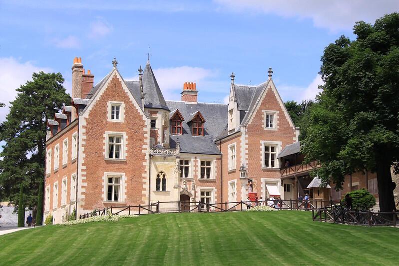 達芬奇最後故居克洛呂斯城堡外觀
