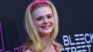 US actress Elle Fanning, joins seven other members of the Jury under president Alejandro Gonzalez Inarritù to select the Golden Palm winner in 209