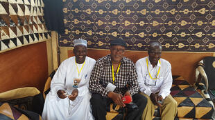 Adamou Mohamadou, Sayouba Traoré et Mana Adama.