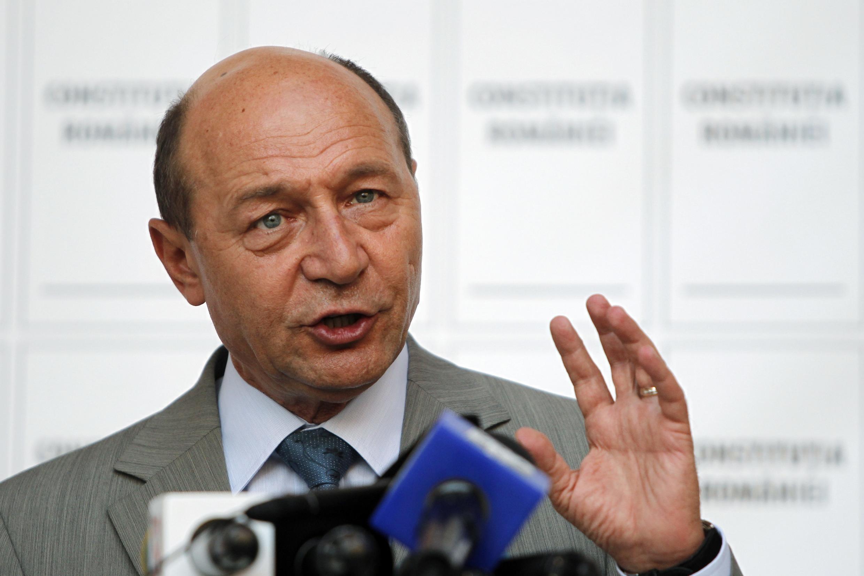 Rais wa Romania Trian Basescu