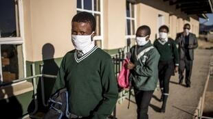 En Afrique du Sud, les écoles publiques vont de nouveau fermées pour un mois à cause du covid-19. (photo d'illustration)