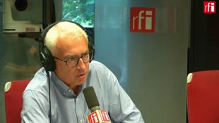 François Thomas, président de SOS Méditerranée France au micro de RFI.