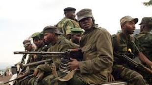 Baadhi ya wanajeshi nchini DRC