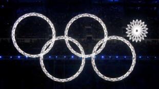 На церемонии открытия Олимпиады в Сочи в 2014 году