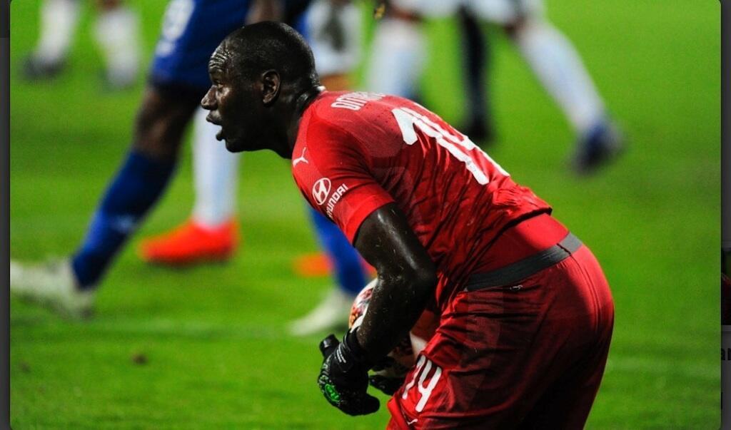 Dennis Onyango, nahodha wa timu ya taifa ya Uganda.