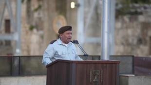 Le chef d'état-major israélien Gadi Eisenkot le 23 mai 2017 à Jérusalem.