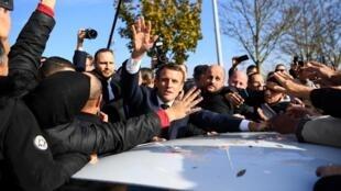 امانوئل ماکرون رئیس جمهوری فرانسه