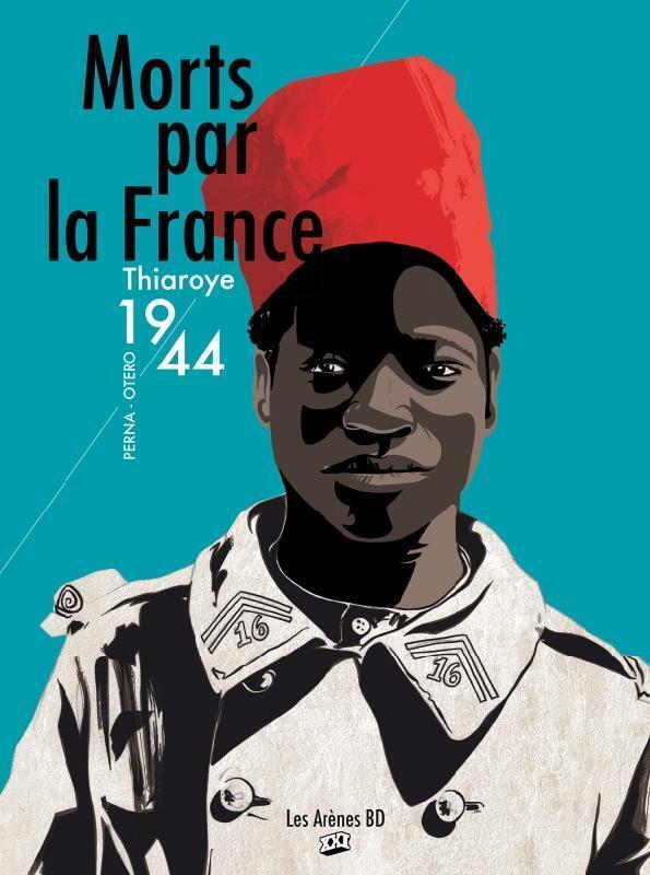 La couverture de la BD «Morts par la France» coécrite par Pat Perna et Nicolas Otéro.