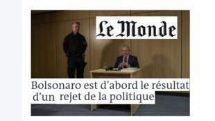 Le Monde publicou uma entrevista exclusiva com o ex-presidente brasileiro Luiz Inácio Lula da Silva nesta quinta-feira, 12 de setembro de 2019.