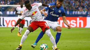 Naby Keita in action against Schalke 04 on 19 August 2017.