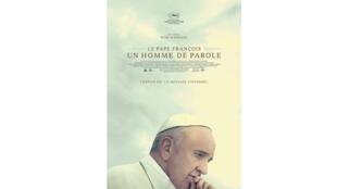 L'affiche du film de Wim Wenders, «Le pape François. Un homme de parole».