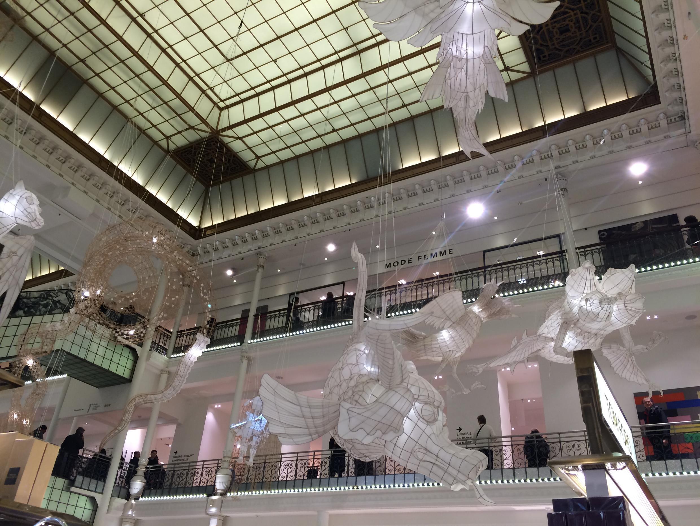 艾未未从1月16日至2月22日在巴黎奢侈品百货公司乐蓬马歇(Le Bon Marché)展览