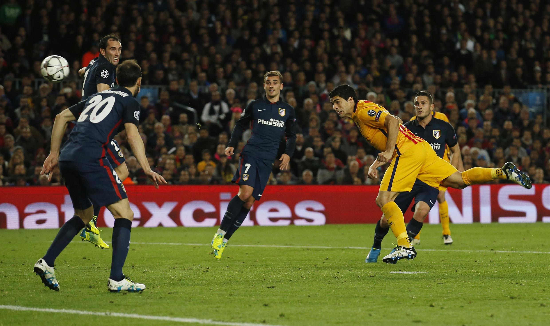 Kwallaye biyu Suarez ya jefa a ragar Atletico Madrid