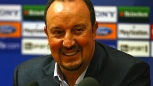 Rafael Benitez, nouveau sélectionneur de Chelsea.