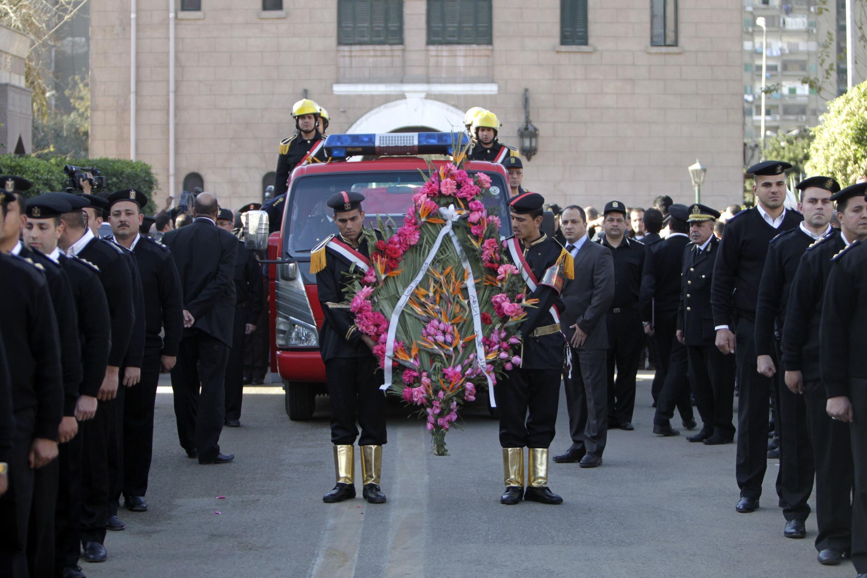 Đám tang tướng cảnh sát Mohamed Said tại Cairo ngày 28/01/2014.