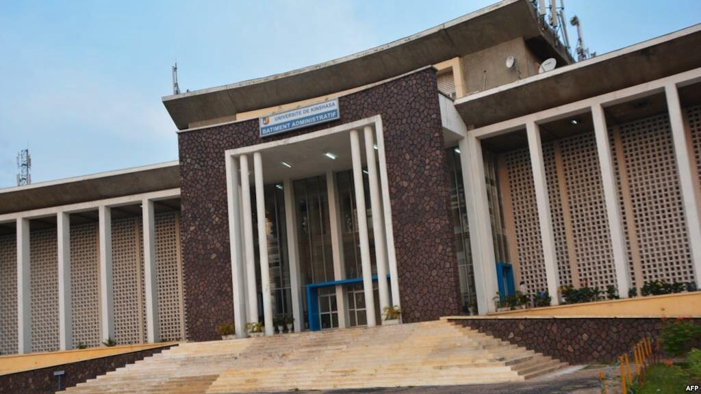Chuo Kikuu cha Kinshasa (UNIKIN) Januari 19, 2015.
