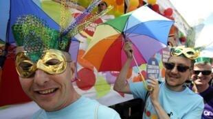 Imagens da Gay Pride 2012 em Paris.