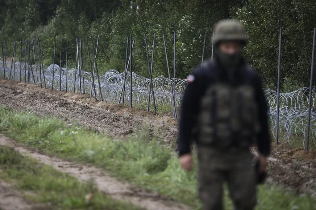 frontière pologne biélorussie europe