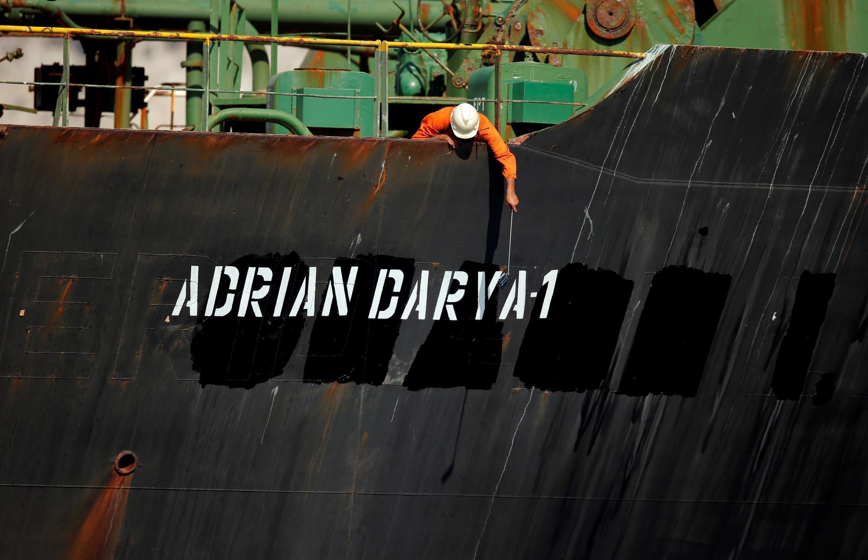 """کشتی گریس  به """"آدریان دریا"""" تغییر اسم داده است"""