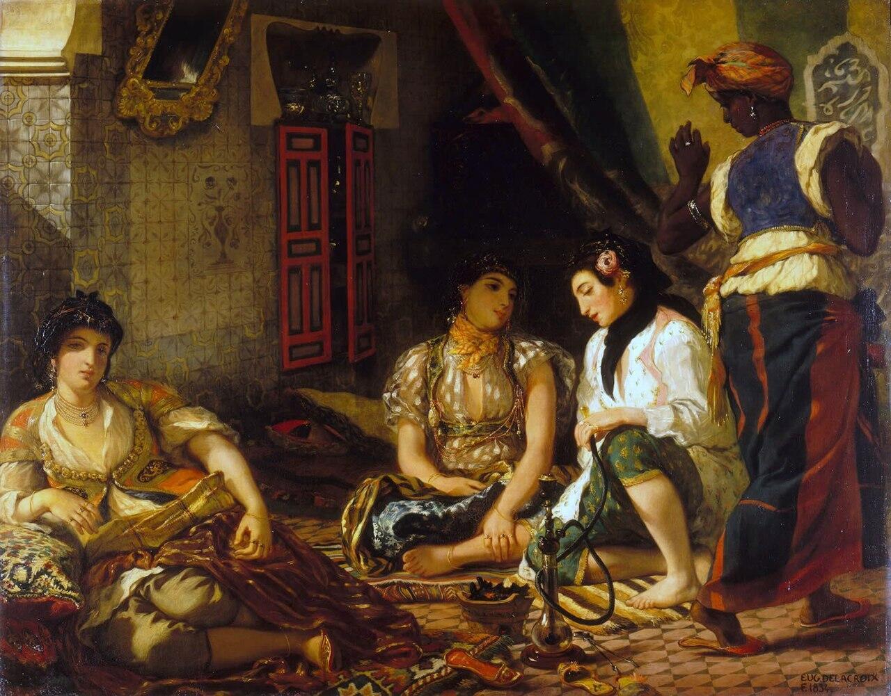 زنی از الجزیره.1834