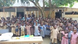 Les élèves de l'école Bananikro à Abidjan.