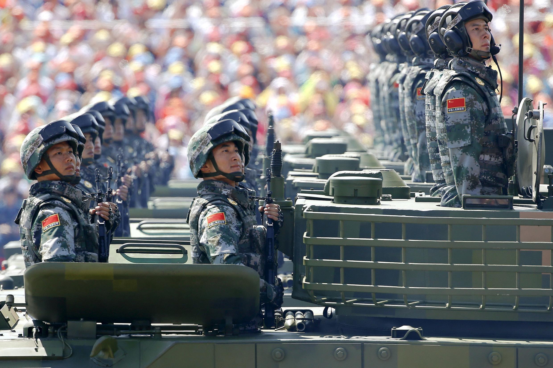 2015年9月3日在北京舉行的閱兵式