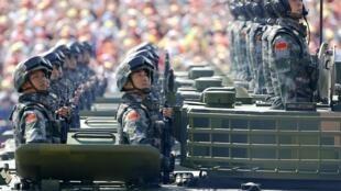 2015年9月3日在北京举行的阅兵式