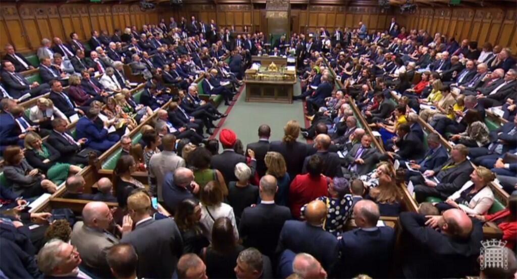 Các nghị sĩ Anh chờ kết quả cuộc bỏ phiếu tối ngày 03/09/2019