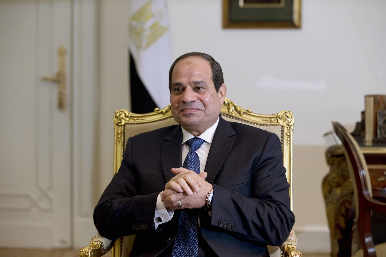 فتاح السیسی، رئیس جمهور مصر. عکس آرشیو.