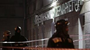 ФСБ сообщила о задержании организатора и исполнителя взрыва в Петербурге