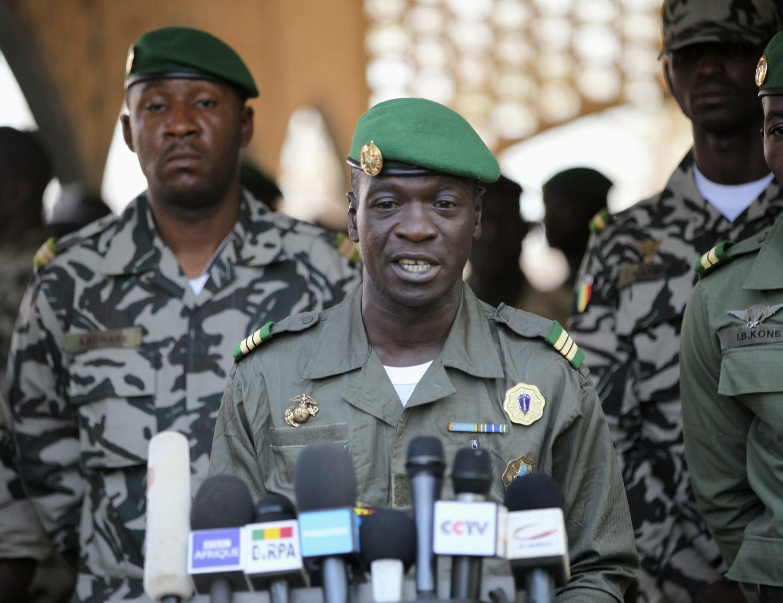 Kiongozi wa Junta nchini Mali kapteni Amadou Sanogo