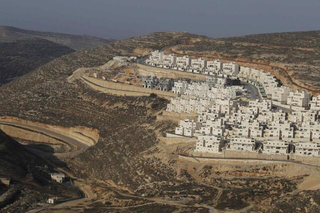 Một khu định cư Do Thái được Israel xây dựng trên Cisjordanie, lãnh thổ của Palestine.