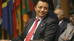 Le président malgache déchu Marc Ravalomanana lors du sommet à Addis Abéba, le 3 novembre 2009.