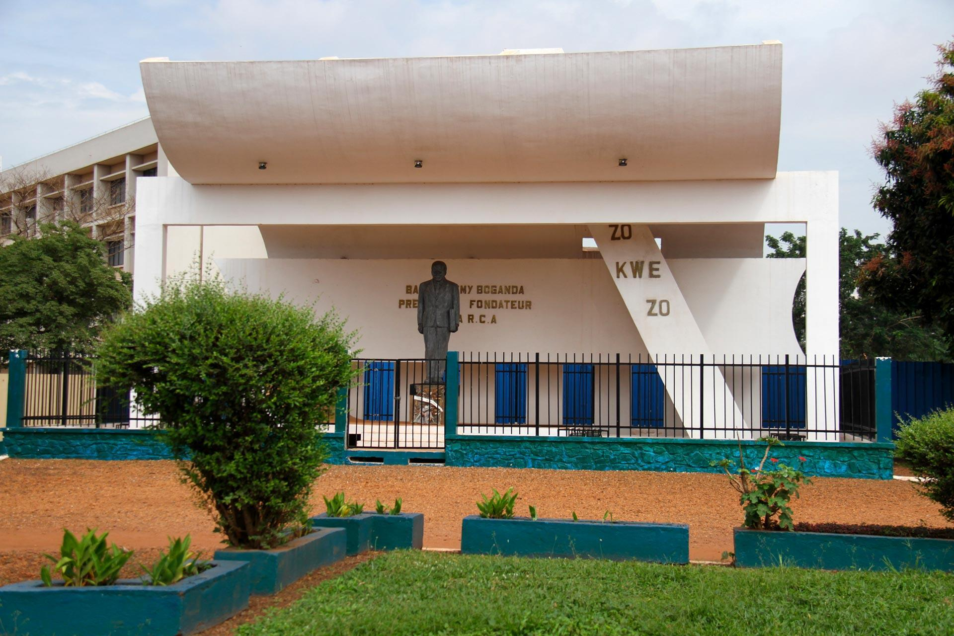 Indépendance Centrafrique Boganda Statue