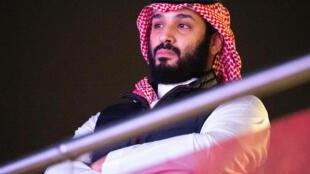 Le prince héritier d'Arabie Saoudite, Mohammed ben Salmane, à Diriya (Arabie Saoudite), le 7 décembre 2019