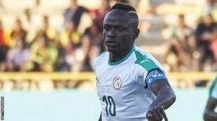 Mshambuliaji wa timu ya Taifa ya Senegal, Sadio Mane