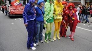 Une Gay Pride à Munich en Allemagne.