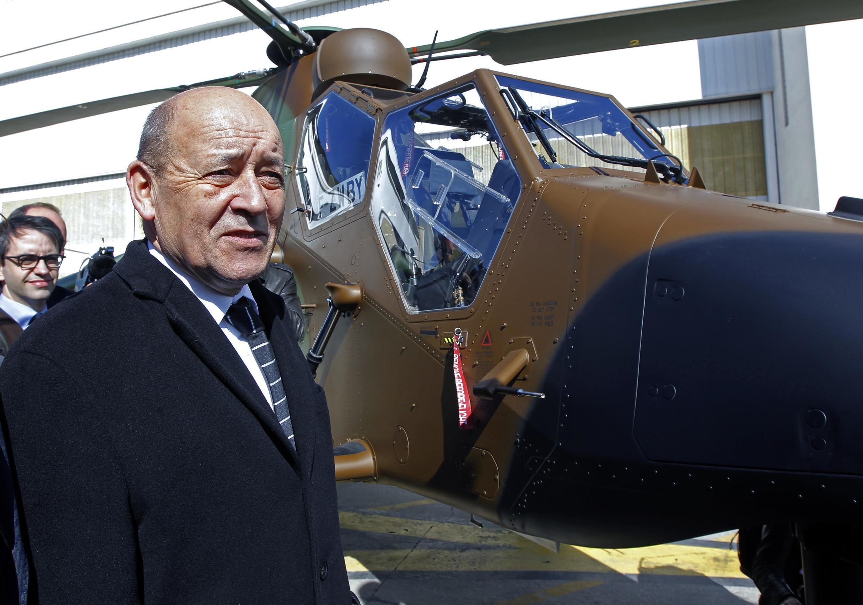 ژان ایو لودریان وزیر خارجۀ فرانسه به شدت از ترکیه انتقاد کرد. لودریان قبلاً وزیر دفاع بود.
