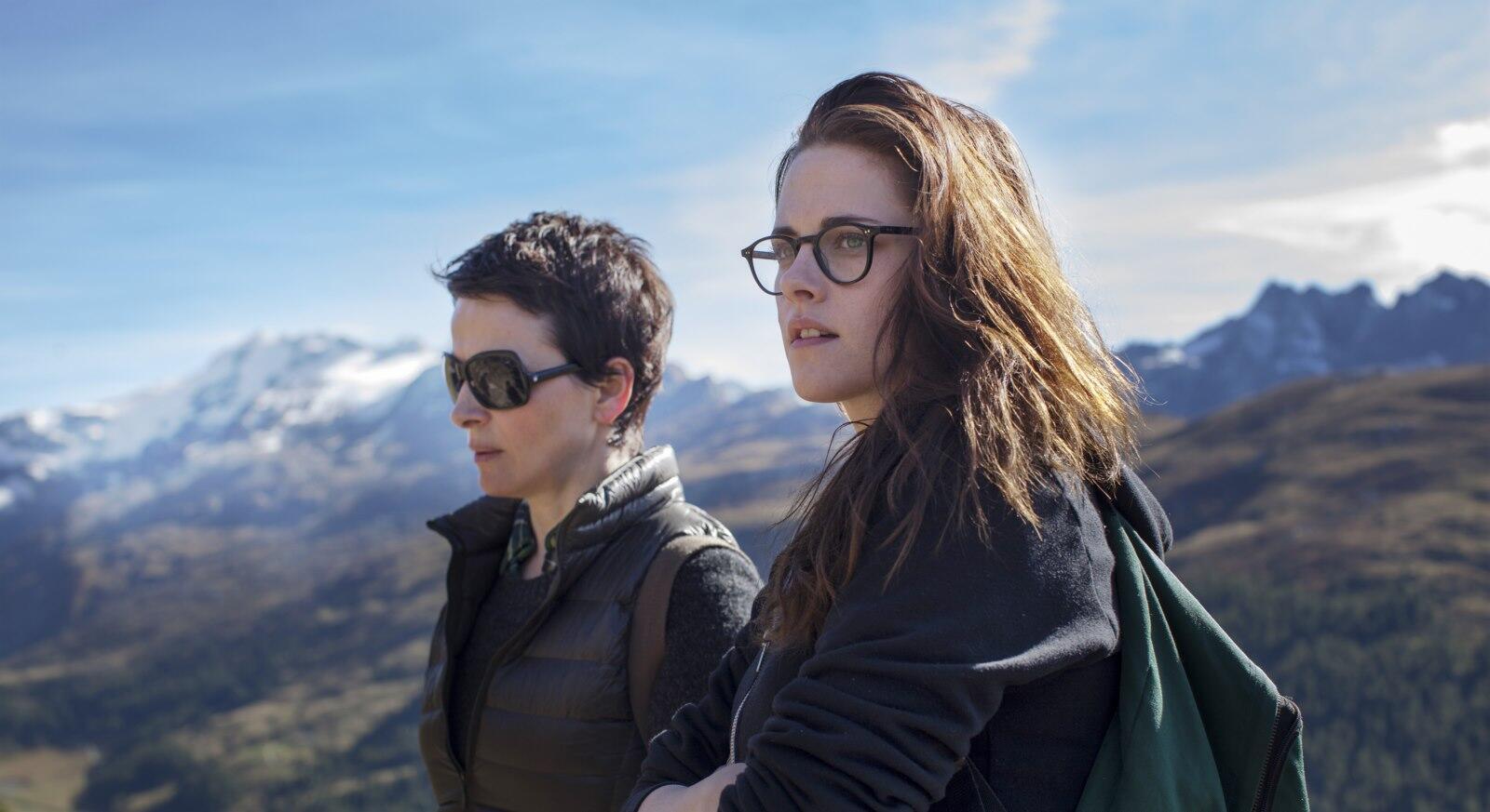 Juliette Binoche and Kristen Stewart in Olivier Assayas's Sils Maria