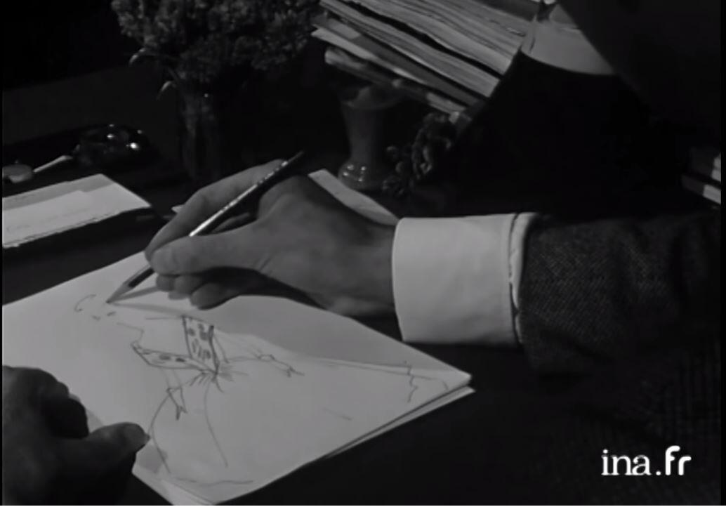 Юбер де Живанши приехал в Париж 17-летним, надеясь показать свои эскизы знаменитому кутюрье Баленсиаге.