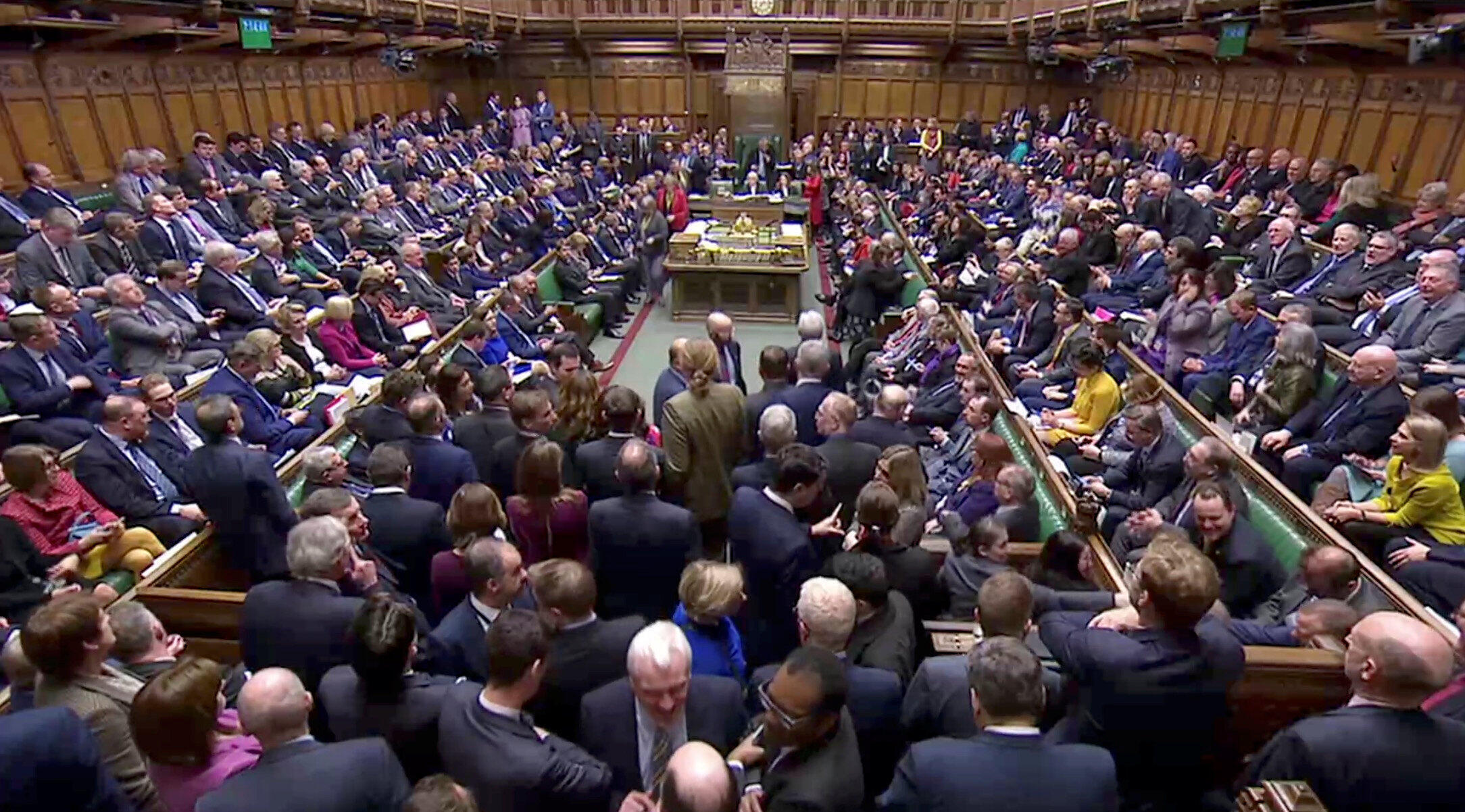 Parlamento britânico.