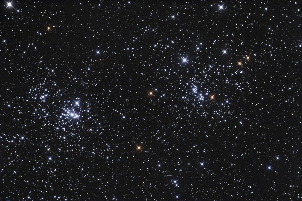 Estrelas da constelção Perseu