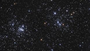 Des étoiles de la constellation Persée.