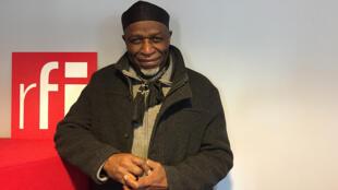 Musique - Ray Lema à RFI en mars 2021 - Logo RFI - Epopée des musiques noires 28 mars 2021