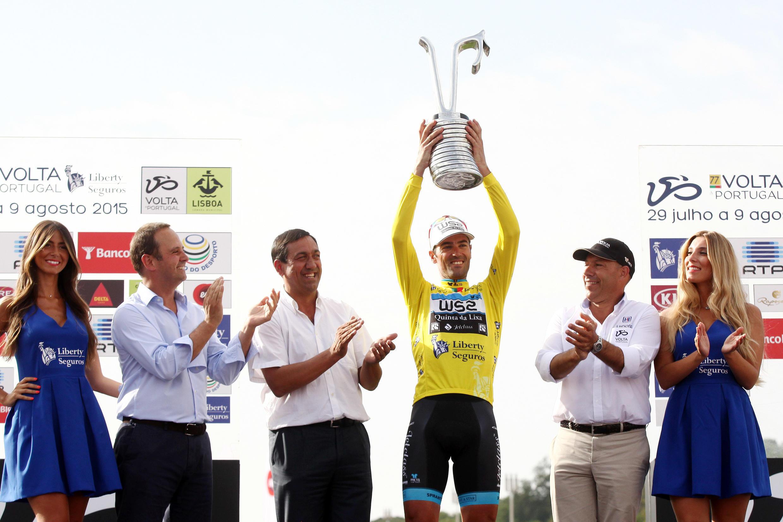Gustavo Veloso (W52 - Quinta da Lixa) venceu pelo segundo ano consecutivo a Volta a Portugal em bicicleta.